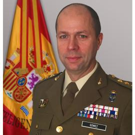 Colonel Angel Gomez Gonzalez, Commander, 1st Intelligence Regiment at Spanish Army