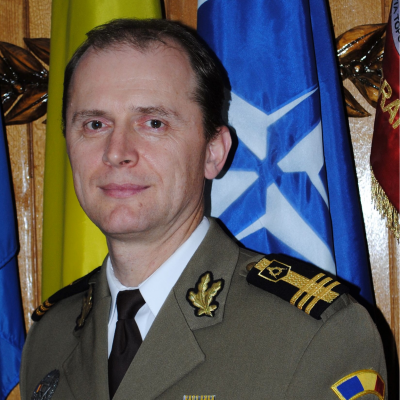 Dan Pomirleanu, Deputy Chief for Geospatial Information at Defence Information Agency MoD Romania