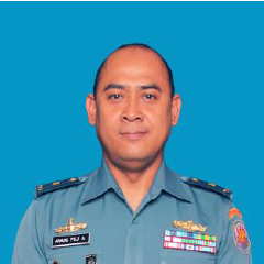 Lieutenant Commander Anang Puji Armanto, Head of Special Office Department at Indonesian Navy