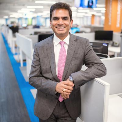 Ashwin Rao, Executive Vice President at Collabera