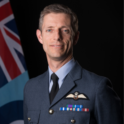 Air Commodore James H. Hunter