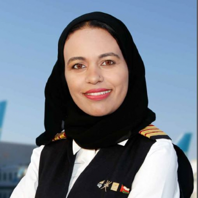 Alia Al Qalam Al Yafei, Manager Development Engineering – Avionics IFE at Oman Air