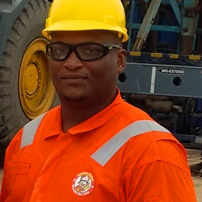 Lawrence Okechukwu, HSE Drilling Supervisor at Nigerian Agip Oil Company, Nigeria