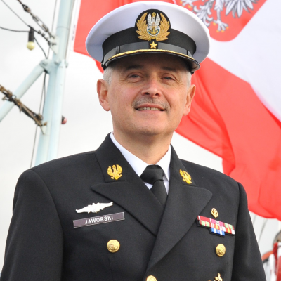 Vice Admiral Krzysztof Jerzy Jaworski, Commander Maritime Operations Center at Polish Operational Command