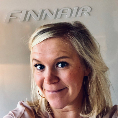 Ruusa Koskelainen, Head of Digital Marketing & CRM at Finnair