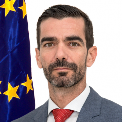 Alvaro Rodriguez, Deputy Head of Operations at EU Satellite Centre (EUSATCEN)