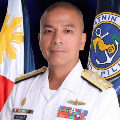 Rear Admiral Loumer Bernabe
