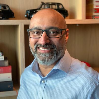 Milan Kotecha, Director of Sales – UK, Central, Eastern & Western Europe at Waterline Data