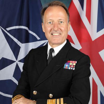 Vice Admiral Paul Bennett CB OBE