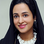 Her Excellency Dr. Maryam Matar, Founder and Chairperson at UAE Genetics Diseases Association