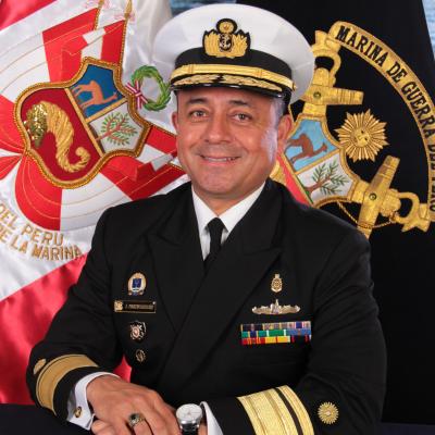 Rear Admiral Jorge Portocarrero