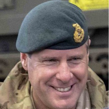Major General Tom Copinger-Symes CBE,