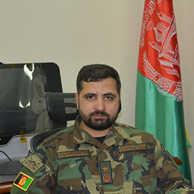 Major General Hibatullah Alizai