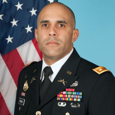 Lieutenant Colonel Daniel Ramos