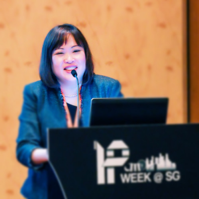 Trina Ha, Director of Legal at Intellectual Property Office of Singapore