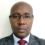 Francis K. Ndeleva, Chief Fire Officer, HQ at Kenya Airports Authority