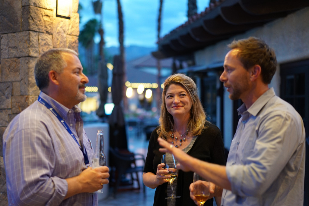Talent Acquisition and Recruitment Executives Networking at the Talent Acquisition Exchange