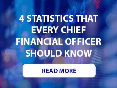 4 statistics that every chief financial officer should know Read More