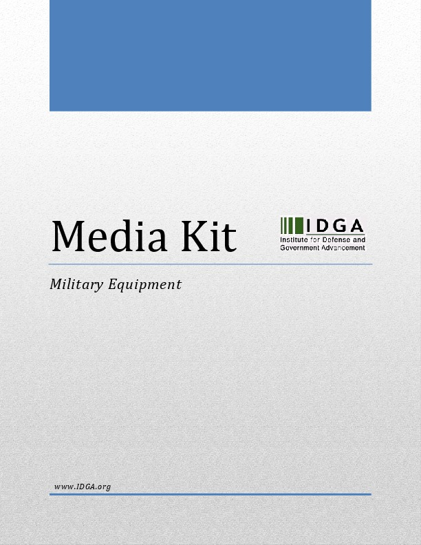 Military Equipment Media Kit