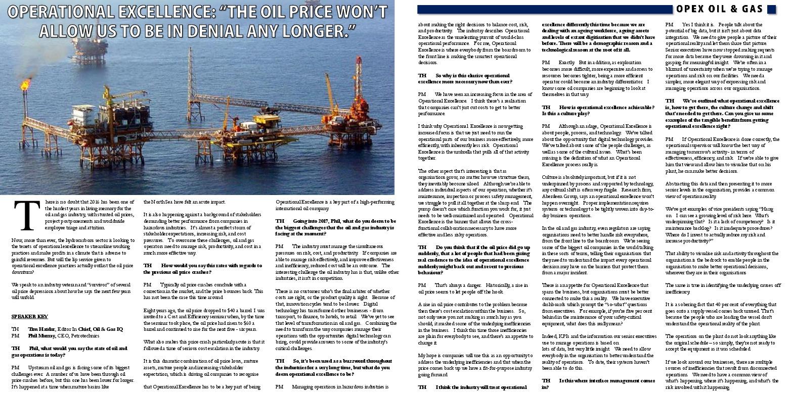 Tag | petrotechnics | Oil & Gas IQ