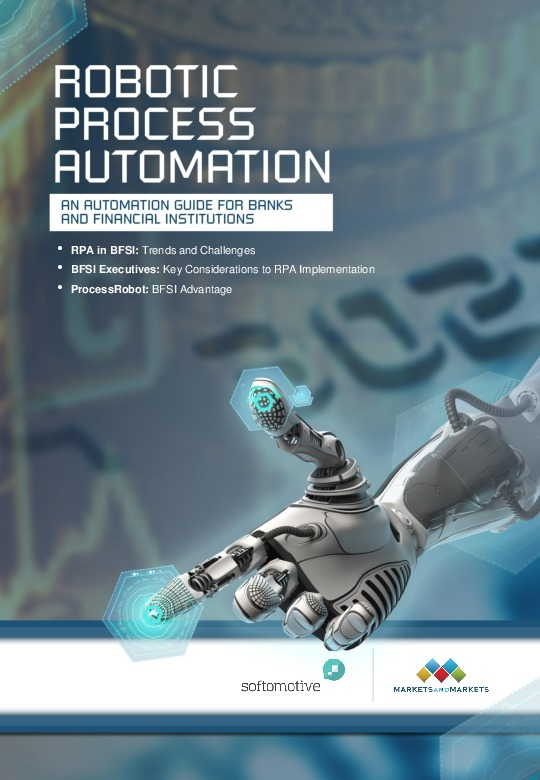 Robotic Process Automation A Guide For Banks And Financial