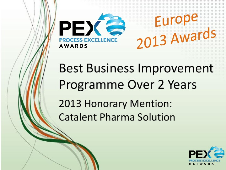 Tag | PEX Awards | Process Excellence Network