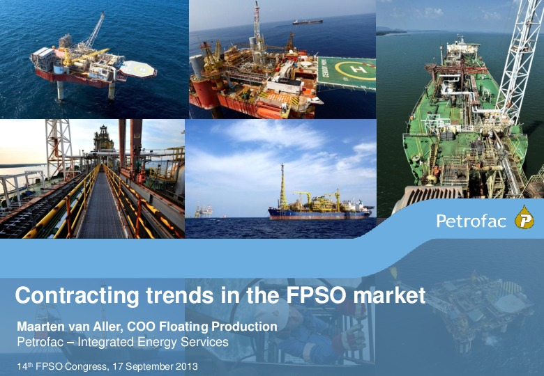 Contracting trends in the FPSO market | FPSO Network Team