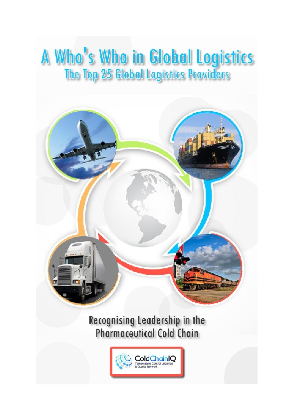Top 25 Global Logistics Providers - A Who's Who in Global