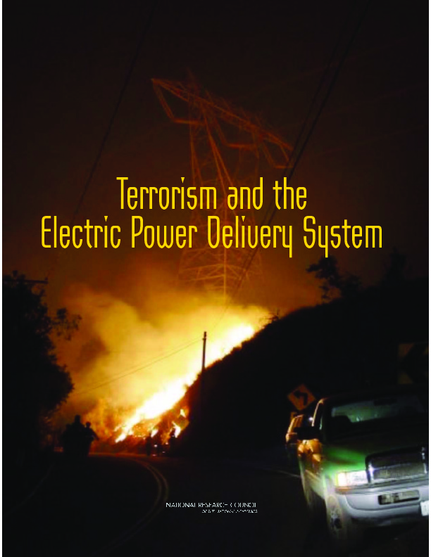 Terrorism and the Electric Power Delivery System | IDGA