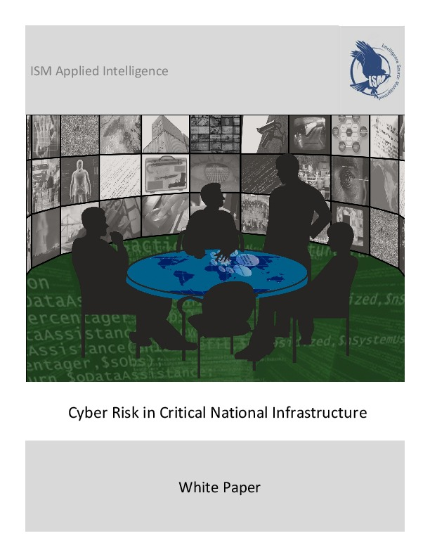 Cyber Risk in Critical National Infrastructure: Whitepaper