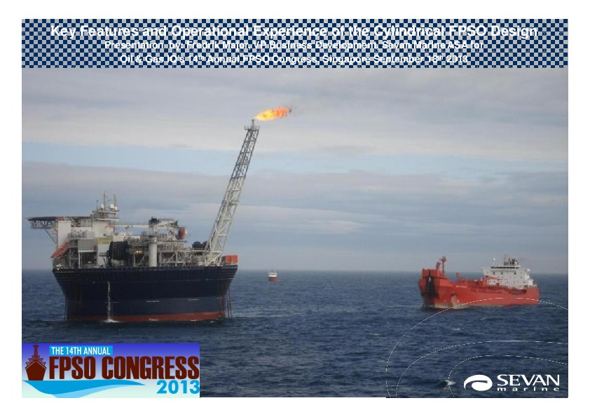 Tag | Cylindrical FPSO Design | FPSO Network Team