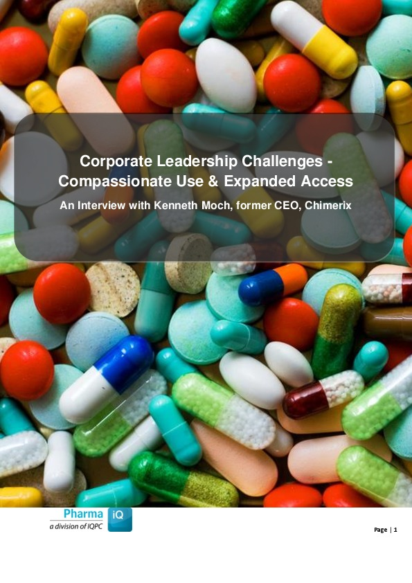 Corporate Leadership Challenges - Compassionate Use