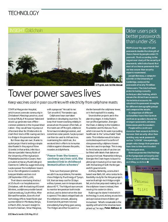 Tower Power Saves Lives | Pharma Logistics