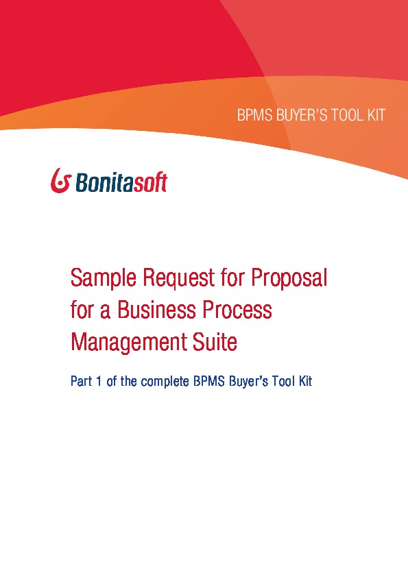 process excellence network sample request for proposal for a