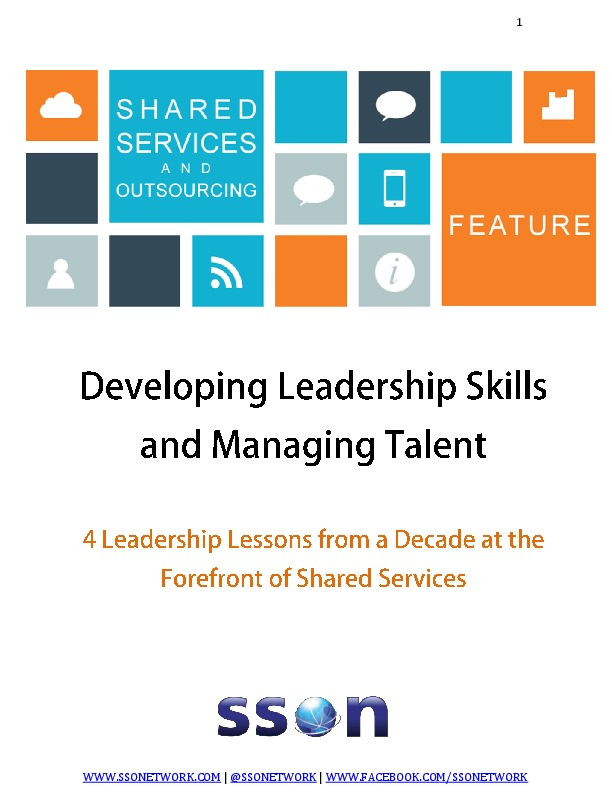 Developing Leadership Skills and Managing Talent | The Shared