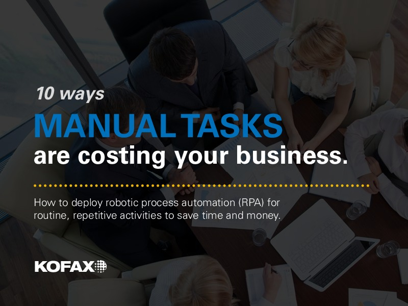 The shared services outsourcing network shared services the basics 10 ways manual tasks are costing your business fandeluxe Image collections