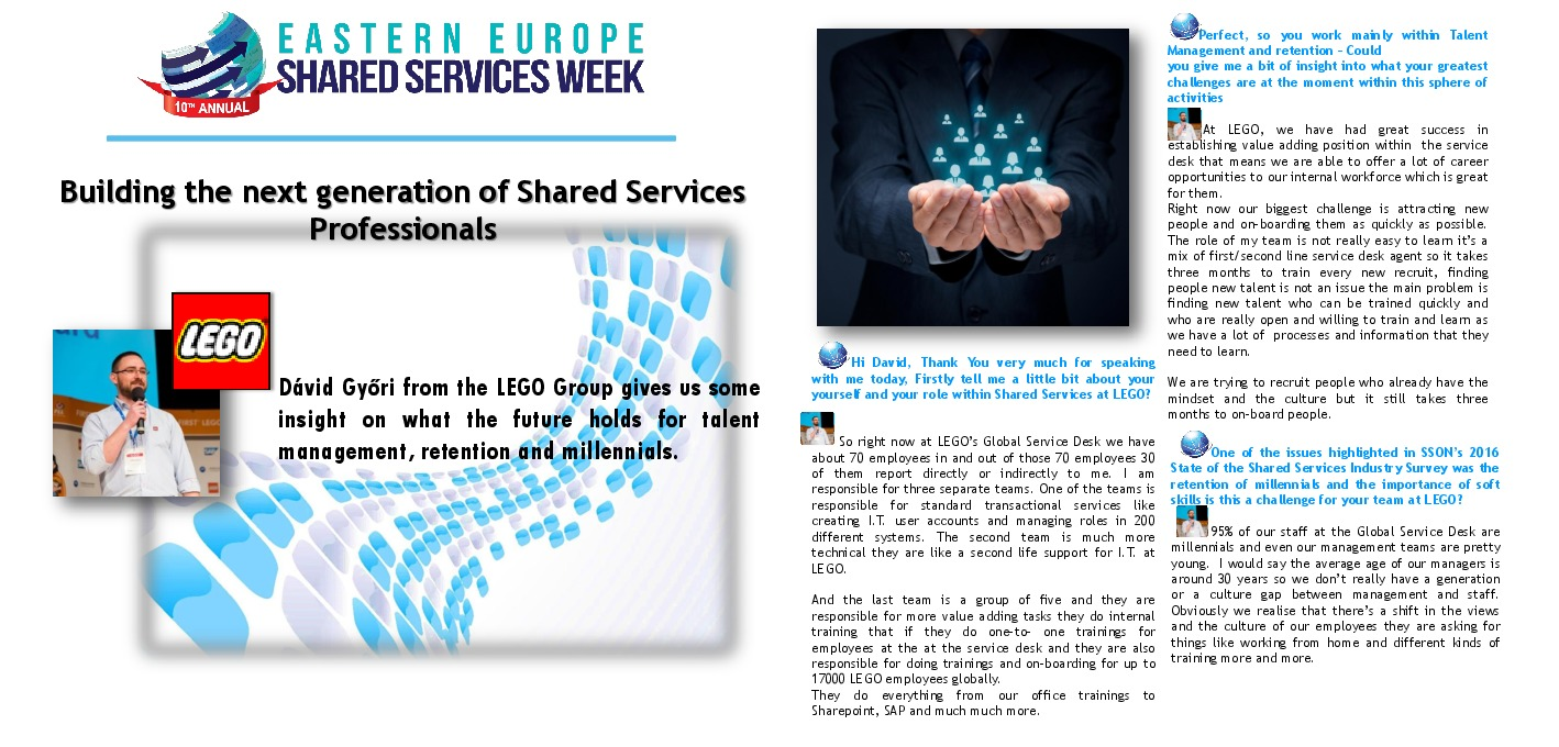 Tag | Lego | The Shared Services & Outsourcing Network