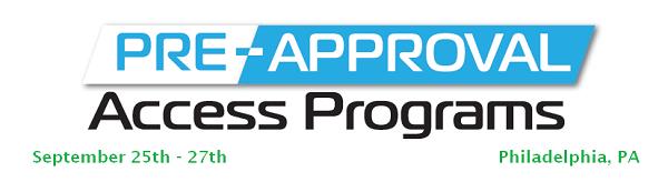 Pre-Approval Access Programs Agenda