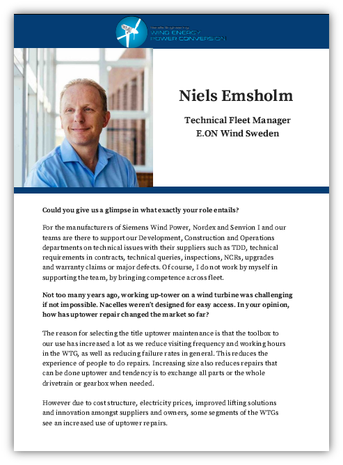 Interview with Niels Emsholm