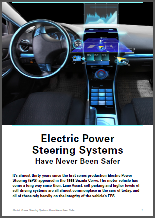 Electric power steering systems have never been safer