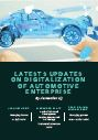 Latest updates on Digitalization of Automotive Enterprise