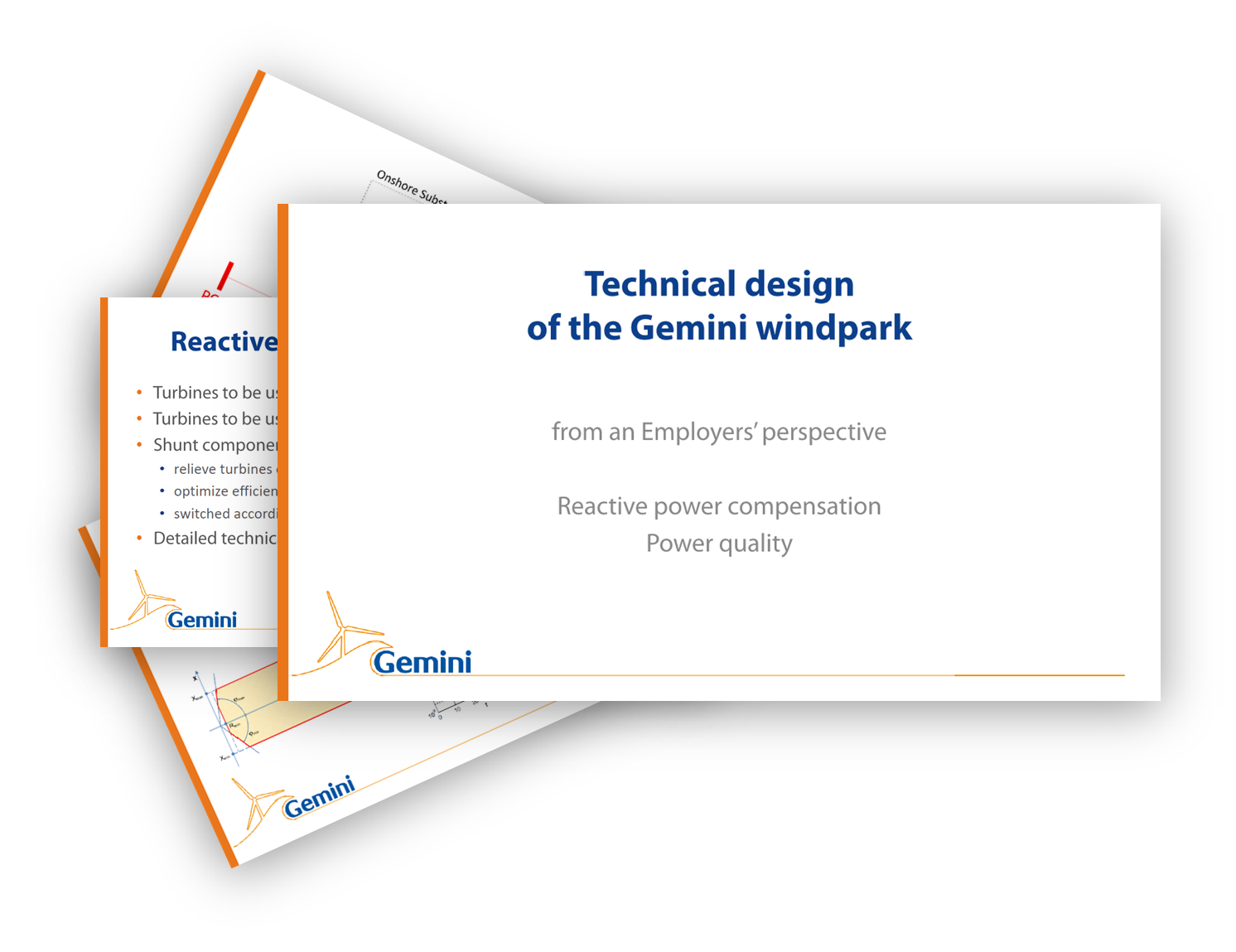 Technical design of the Gemini windpark
