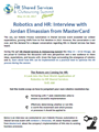 Robotics and HR: Interview with Jordan Elmassian from MasterCard