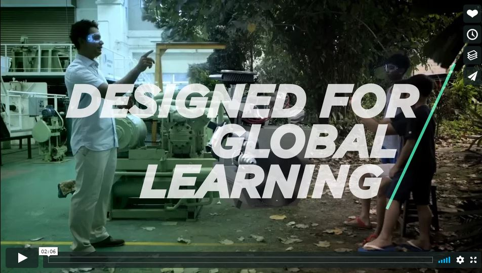 Designed for Global Learning - Virtual Reality at ORU