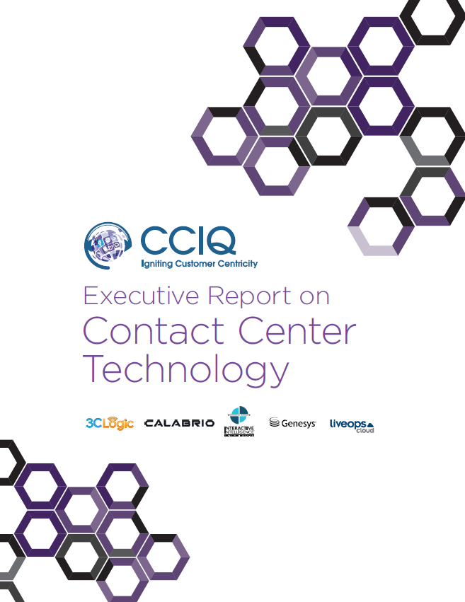 Executive Report on Contact Center Technology
