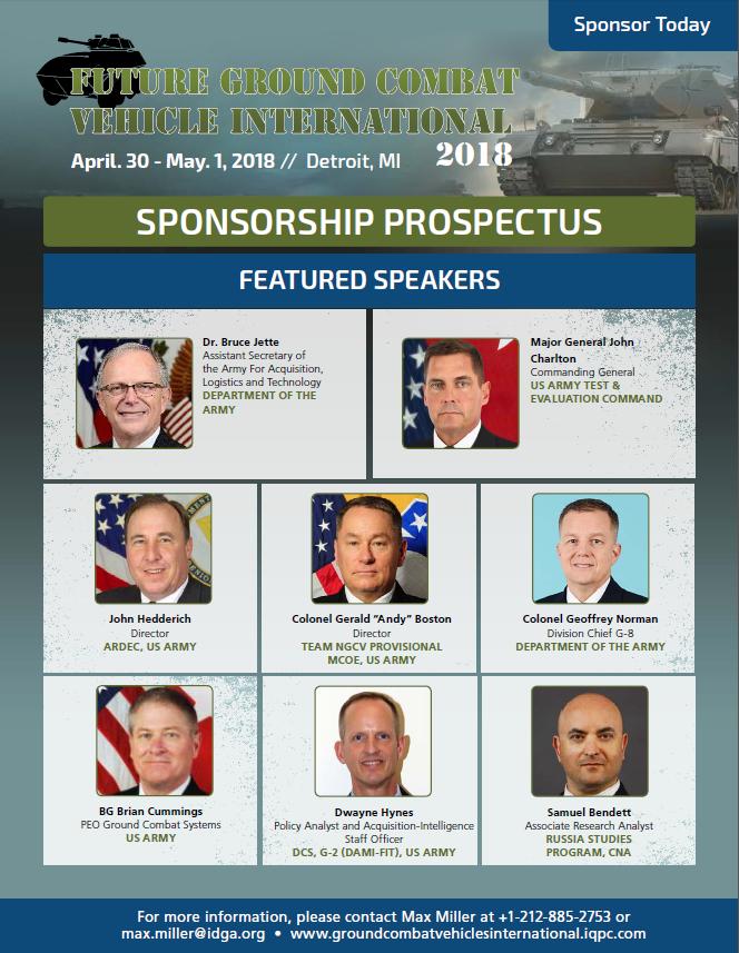 FGCV 18 - Sponsorship Prospectus