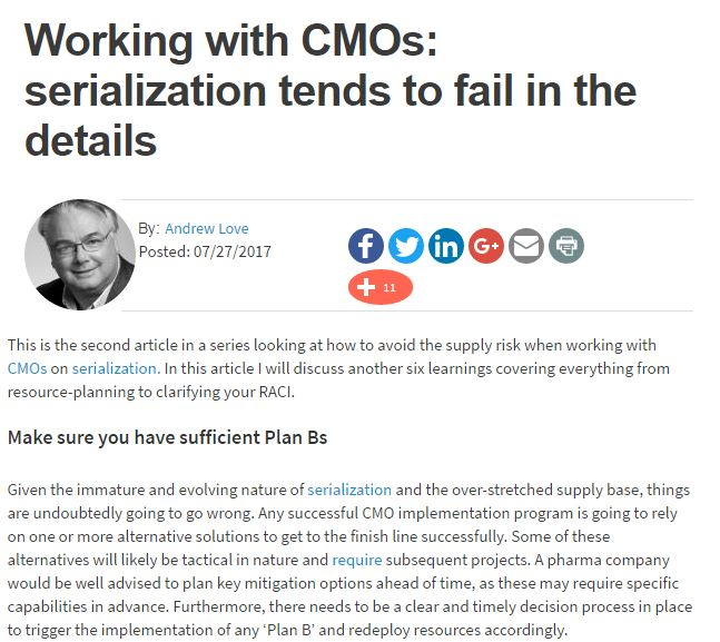 Working with CMOs: serialization tends to fail in the details