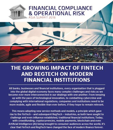 The Growing Impact of FinTech and RegTech on Modern Financial Institutions