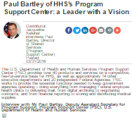 Paul Bartley of HHS's Program Support Center: A Leader with a Vision
