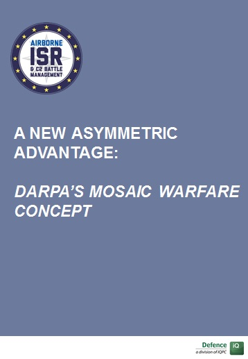 A New Asymmetric Advantage: DARPA's Mosaic Warfare concept